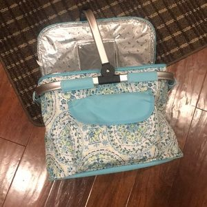 Cynthia Rowley insulated basket/carry all